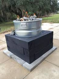 Diy Propane Firepit How To Make A Propane Pit Table New Build Propane Pit My