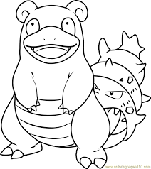 pokemon coloring pages wailord slowbro pokemon coloring page free pokémon coloring pages