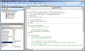 vba interoperability with visual studio tools for the office