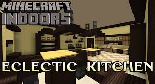 Interior Designs For Kitchen Eclectic Kitchen In Yellow Minecraft Indoors Interior Design