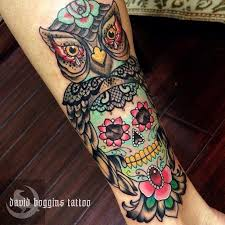 owl and sugar skull elaxsir