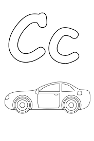 letter c coloring pages bestofcoloring com