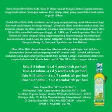 Minyak Evoo Untuk Bayi jual olive baby omega 3 dan 6 minyak zaitun 250ml casa di oliva