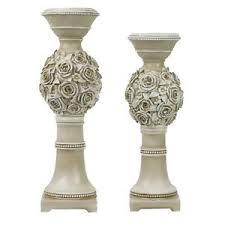 d lusso favors d lusso designs ad02 cassia design two hurricane candlestick