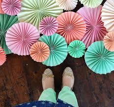 diy fans 3 free diy paper crafts tutorials flower fans and garland i