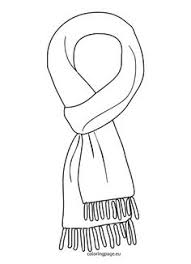 winter clothing coloring page gloves winter pinterest gloves