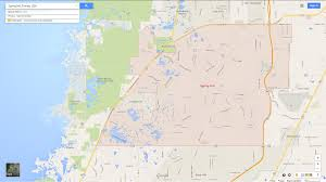 Central Florida Map by Spring Hill Florida Map
