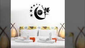 new black wall clock modern design moon elf mirror diy clocks 3d new black wall clock modern design moon elf mirror diy clocks 3d stickers mirror watches living room