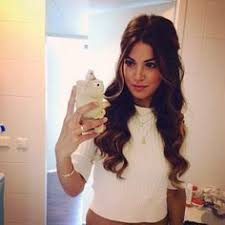 part down the middle hair style middle part half updo google search hair ideas pinterest