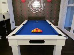 Pool Tables Customer Focus David H Has An Oxford Pool Dining - Pool dining room table