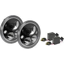 jeep chrome x lighting jeep jk headlights pair of 7