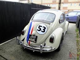 volkswagen beetle herbie 1972 herbie vw beetle new engine last year tax exempt rag top