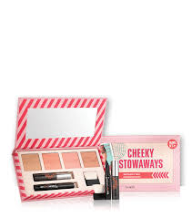 travel set images Cheeky stowaways travel set benefit cosmetics png