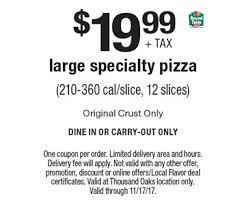 Round Table Pizza Coupon Codes Localflavor Com Round Table Pizza Coupons