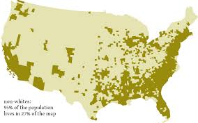 usa map just states how that map you saw on fivethirtyeight silences minorities and