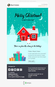 merry email template lovely for real estate industry