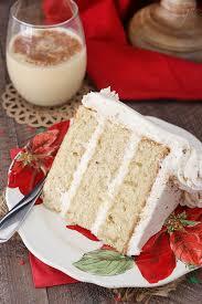 eggnog layer cake life love and sugar