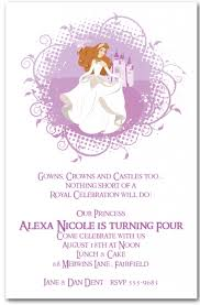 template classic princess birthday invitations diy with charming