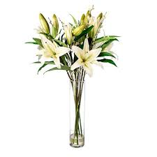 Flowers Glass Vase 16 Best Artificial Flowers And Vases Images On Pinterest
