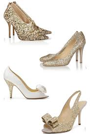 wedding shoes gold gold and glitter wedding shoes chic