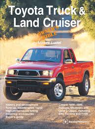 toyota truck and land cruiser owner u0027s bible moses ludel