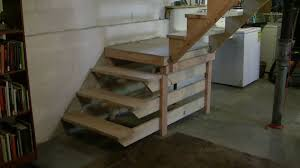 pretty how to build basement stairs 43 alongs home interior idea