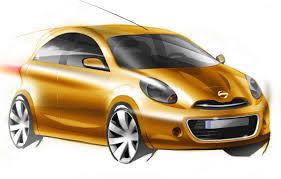nissan micra 2010 next nissan micra march supermini teased in official sketches