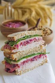 leftover turkey and cranberry sandwich lovely kitchen