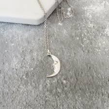 gothic moon necklace images Edgar allan poe moon necklace gothic literature collection jpg