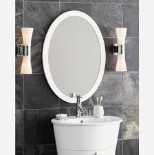bathroom cabinet how to frame an oval bathroom mirror how to