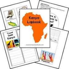 africa map worksheet teaching pinterest