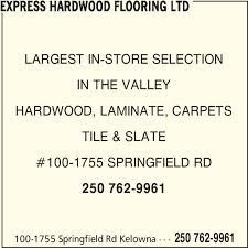 express hardwood flooring ltd kelowna bc 100 1755 springfield
