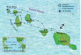 Where Is Bora Bora Located On The World Map by Tahiti And French Polynesia Under Sail The Ohio State University