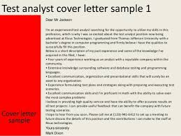 data communications analyst cover letter