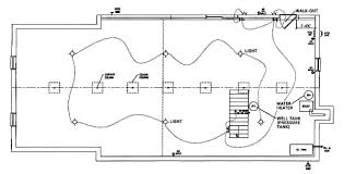 home floor plan drawing layout plans are required for homes with basements