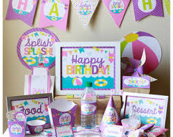 Birthday Decorations For Girls Rubber Ducky Birthday Decorations Printable Rubbery Ducky