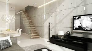 Home Furnishings Ideas With Wall Covering Made Of Concrete And Its - Concrete walls design