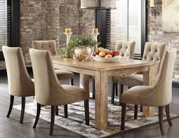 dining room table sets leather chairs rustic round dining room