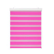 doppel jalousie doppelrollo mit blende pink 120x180 cm doppelrollos rollos