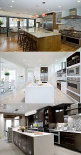 Black And White Contemporary Kitchen - 5 great tips for decorating black and white modern kitchens