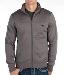 bench krimp track jacket men u0027s coats jackets in smoked pearl