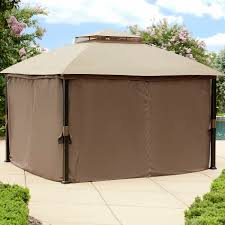 Patio Gazebo Replacement Covers by Garden Oasis Replacement Canopy For Privacy Gazebo Outdoor