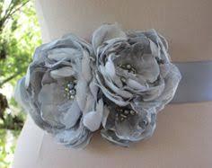 Flower Belts - wedding wednesday fabric flower belts u0026 bouquets from make