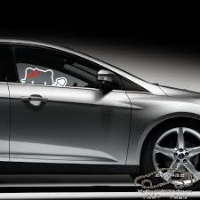 9 kitty car decal images kitty car