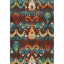 Blue Area Rugs 5x8 by Orian Rugs Series Collection Spoleto Goingrugs