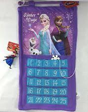 disney frozen felt fabric advent calendar elsa olaf countdown