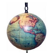ornament world globe by vangondy gift