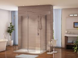 bathroom cheap walk in shower enclosures with stand up shower