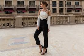 how to wear a jumpsuit what shoes to wear with jumpsuits glamcorner