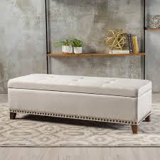 baltimore storage bench fabric